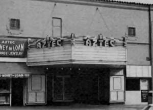 """Das """"Aztec Theater"""" in San Diego"""