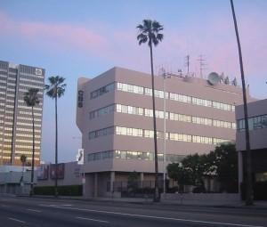 Das CBS-Gebäude am Sunset Boulevard Foto © Gary Minnaert