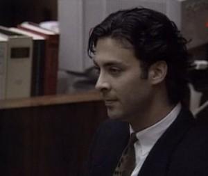 Danny Mandel während seiner Aussage vor Gericht am 11. Juli 1995