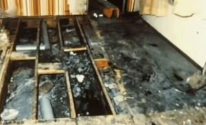 John Wayne Gacy - Haus - Boden
