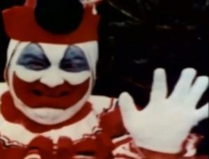 "John Wayne Gacy als ""Pogo der Clown"""