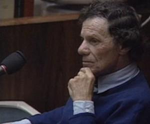 Robert Heidstra am 12. Juli 1995 vor Gericht