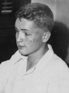 Charles Manson mit etwa 15 Jahren