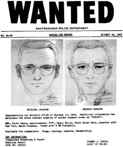 Zodiac Killer - Phantombild