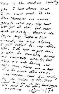 Brief vom 13. März 1971