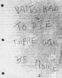 Brief vom 30. April 1967