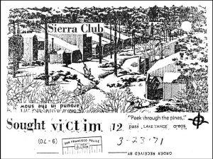 Die Karte vom 22. März 1971