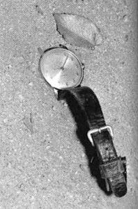 Die Timex-Uhr am Tatort