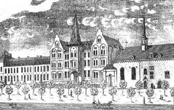 Kloster Mariaberg Aachen, Skandal 1894