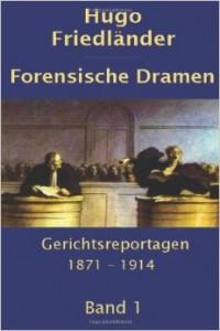 Friedländer Hugi Forensische Dramen 1