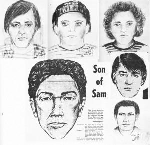 David Berkowitz - Son of Sam - Phantombilder