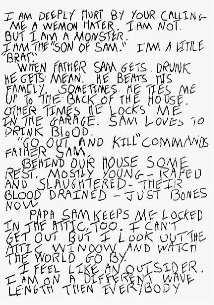 David Berkowitz - Son of Sam - Brief p1