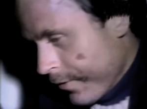 Ein nicht mehr ganz tauffrischer Ted Bundy nach der Verhaftung