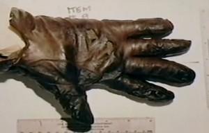 OJ Simpson - linker Handschuh