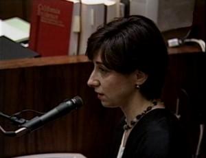 8. Februar 1995: Die Zeugin Eva Stein vor Gericht