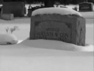 Augusta Gein - Grab - Plainfield - Wisconsin
